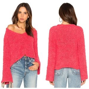 Free People Sand Dune Knit Pullover Sweater XS